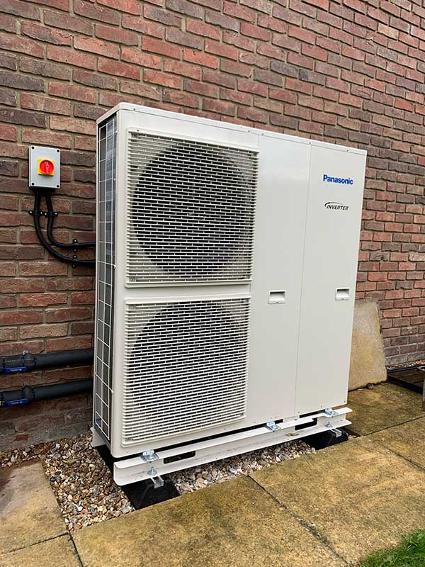 Air Source Heat Pump Panasonic 1