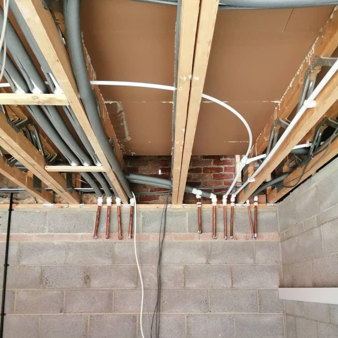 1st fix plumbing installation Lincolnshire